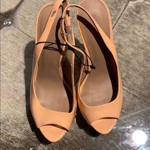 Zara Slingback Platform Sandal